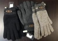 Перчатки б/и текстиль муж. Осень-Зима 2018