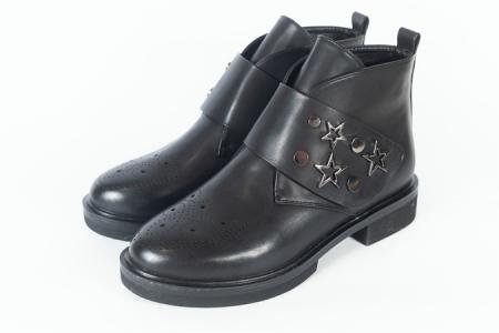 Ботинки AIIS кожа жен. Осень-Зима 2018